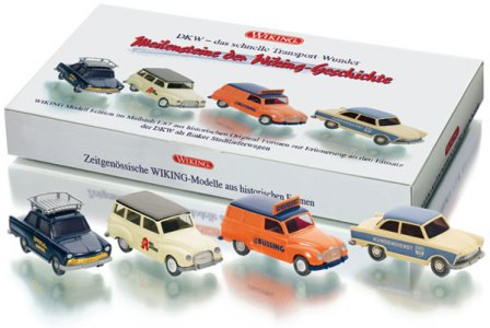 Wiking - 1:87 scale plastic